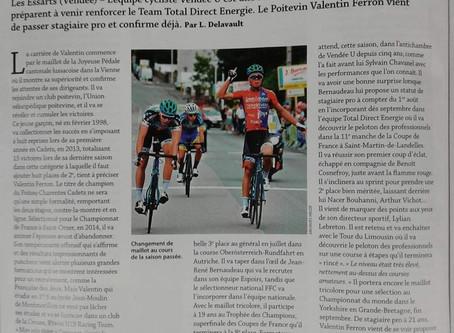 De l' école de vélo de l' UV-POITIERS à la TOTAL DIRECT ÉNERGIE....en quelques lignes...