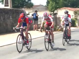 """Chez les """"Rouge et Bleu"""", ils étaient 2 minimes à disputer la course de La Chapelle Bertra"""