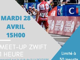 Venez ZWIFTER avec l' UVPOITIERS et Valentin FERRON (coureur professionnel de la TEAM TOTAL DIRE