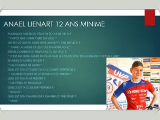 On vous a déjà parlé d'Anaël LIENART ?