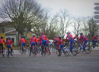 UN WEEK-END DE CYCLISME POUR LES JEUNES UVPISTES