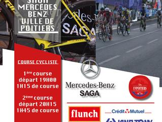 20EME NOCTURNE ELITE CYCLISTE - SAGA MERCEDES BENZ ET DE LA VILLE DE POITIERS - (Mercredi 4 juillet