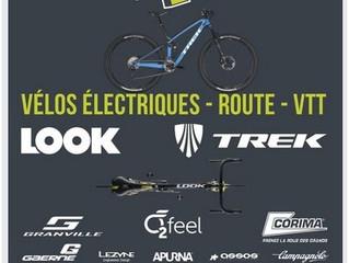 A partir d'aujourd'hui, notre sponsor Vélo 4U vous propose un mode drive pour toute commande