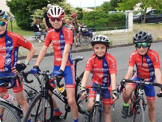 Course école de vélo La Rochefoucauld (dimanche 9 juin 2019)