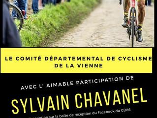Une sortie vélo en virtuelle (vivement le déconfinement) organisée par le Comité Départemental de la