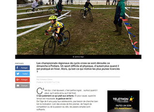 REPORTAGE FRANCE 3 - CYCLOCROSS DE POITIERS