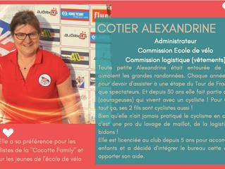 """Et voilà, 1 de nos 3 portraits de la semaine : Alexandrine COTIER ! Elle fait partie des """"petit"""