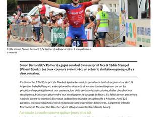 Simon BERNARD - La presse en parle !!