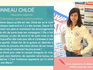 Ce soir on vous présente une nouvelle recrue : Chloé BIRONNEAU !