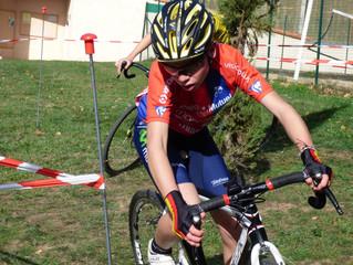 Retour sur le week-end cycliste de notre cadet: Remi DROMAIN