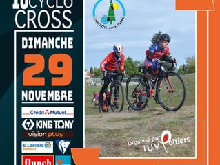 10ème édition du Cyclo-Cross de Vouneuil/ Biard.