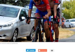 Une arrivée à Laval Cyclisme 53