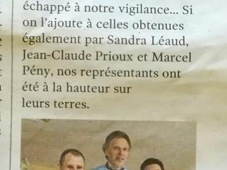 Du Bronze pour Laurent RENAUD