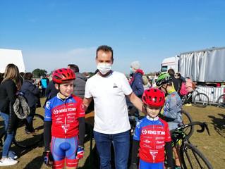 La Richard's Family a fait le déplacement en Vendée aujourd'hui, au cyclo-cross de Challans.