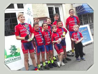 Rencontre des Ecoles de vélo - COURSE DE CÔTES (Montamisé - samedi 25 mai 2019)