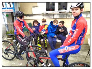 Une belle journée de cyclisme à ST CHRISTOPHE !