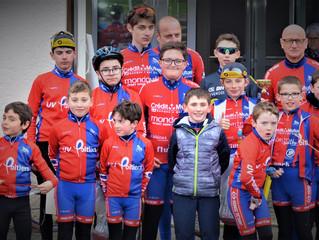 Brevets Cyclistes École de cyclisme - Samedi 24/03/2018