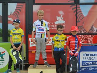 Super journée de vélo pour nos mini-cyclistes de l' UVPOITIERS…. à l' occasion de la rencont