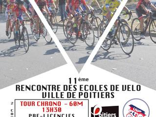11ème Rencontre des Ecoles de vélos de la Ville de Poitiers.