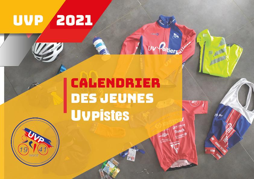 Calendrier Ecole de vélo2021
