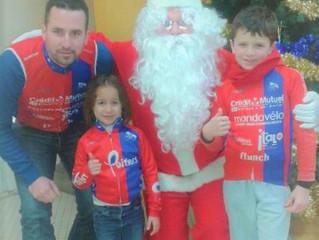 Timeo et Nathanaëlle ont rencontré le Père Noël !