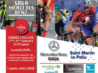 Dernières mises à jour (JEUDI 28 JUIN A 14H) sur le Tour 2018 du Haut Poitou SAGA