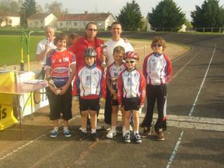 Ecole de cyclisme à Chatellerault (86)