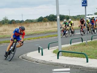 L'UVP était en Indre et Loire aujourd'hui pour une belle course Cadets sur un parcours plat,