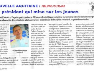 """Le Cycle"" Magasine Novembre 2017 - Philippe FOUSSARD"