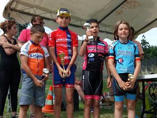 Pupilles - CHATEAUBERNARD (16) - 10ème victoire de la saison (Cx + route) pour  Bastien COTIER !