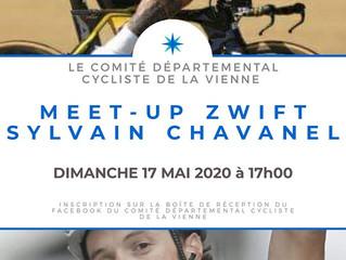 MEET-UP Zwift Sylvain Chavanel