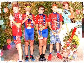 Bastien Vainqueur du Mini-Tour BLANCOIS 2019