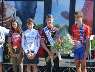 3 podiums pour nos coureurs lors du Championnat Déartemental du Contre-la-Montre (St Sauveur - samed