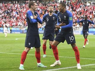 LA FRANCE EN DEMI-FINALE DE LA COUPE DU MONDE 2018