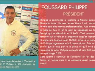 Coup de projecteur sur...Philippe FOUSSARD