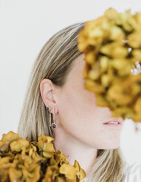 Orecchini Bloom - Glicine