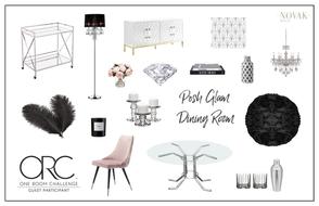 modern glam dining room ideas