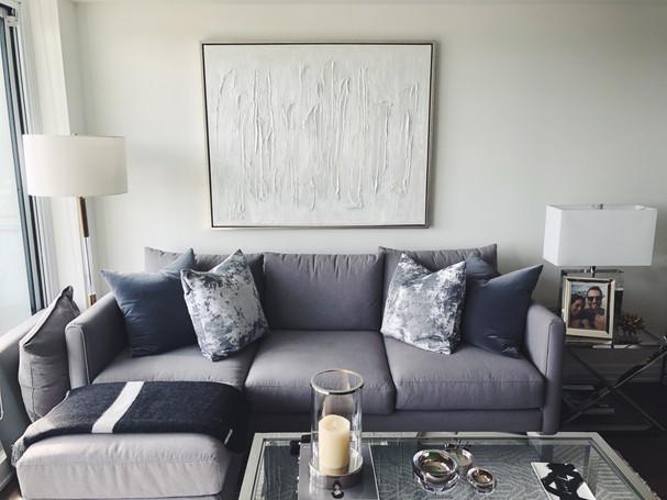 modern living room in toronto