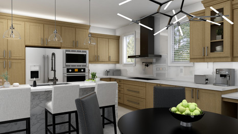 Kitchen renovation for 5000sf home in toronto