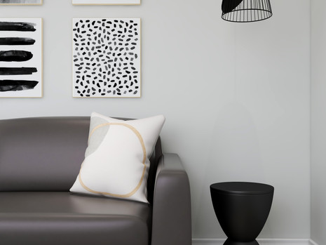 Can you put pendants above end tables in a living room or family room