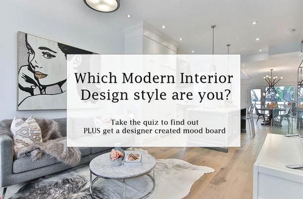 Modern Interior Design Style Quiz