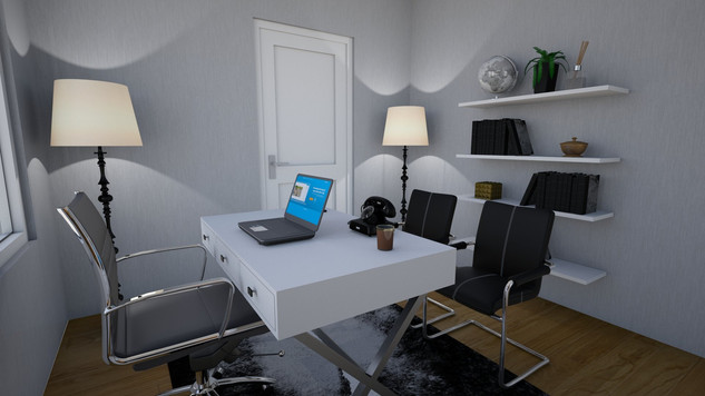 chic professional home office