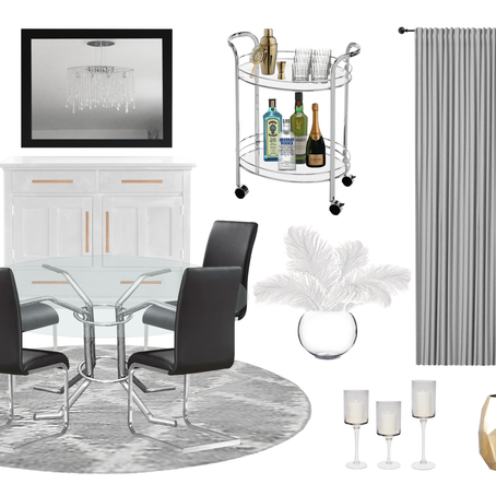Dining Room - One Room Challenge - Week Three - Concept Board