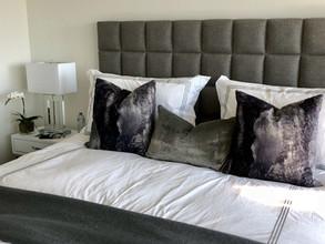 cozy and fancy bedroom