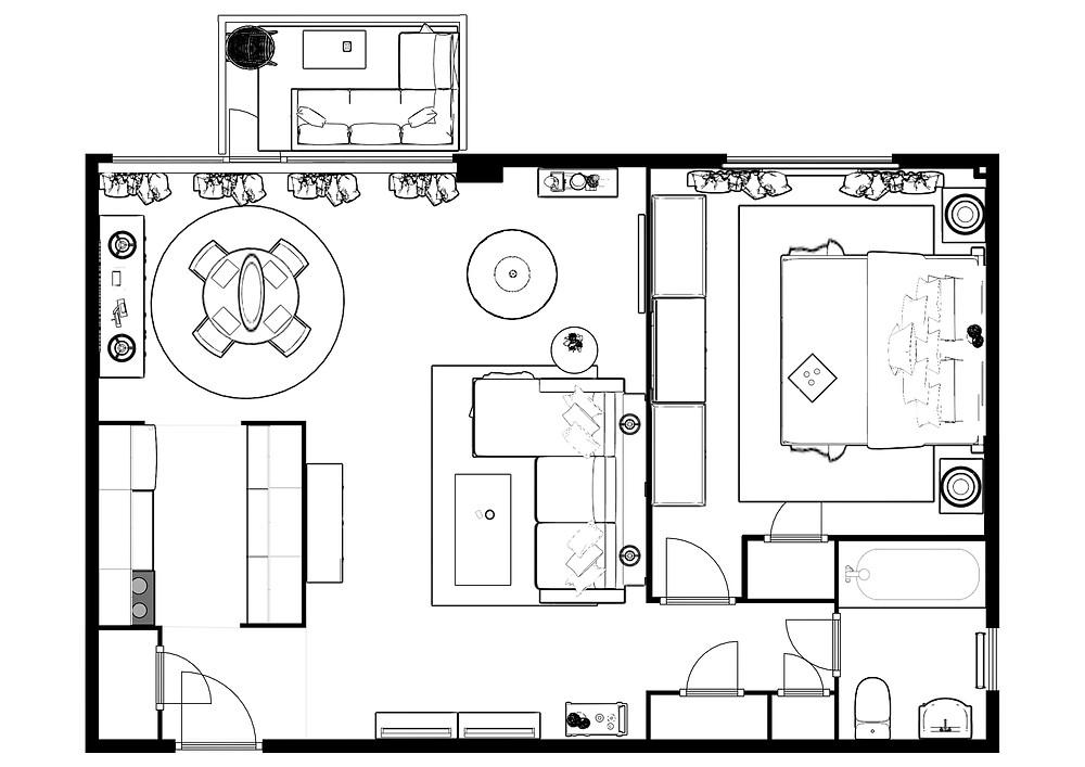 Toronto condo floor plan