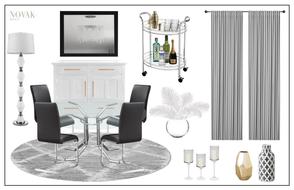 glam dining room decor ideas