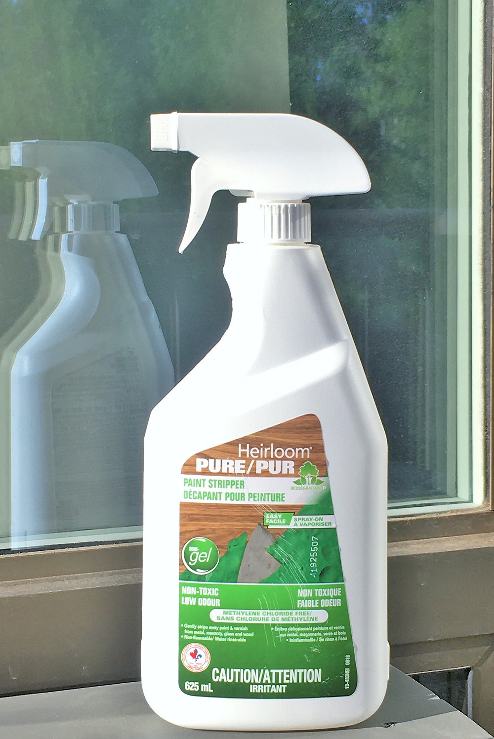 Eco Friendly Paint Stripper used for refinishing furniture for dining room