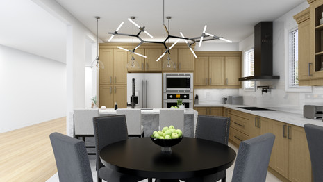Kitchen renovation for clients with a high end style