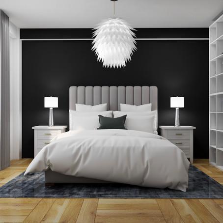 Bedroom - One Room Challenge - Week Two - Renders