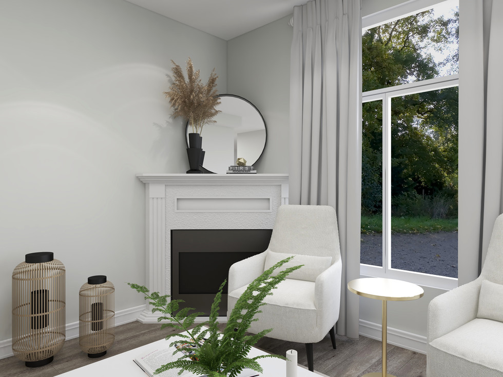 Comfy family room with elegant touches in Richmond Hill